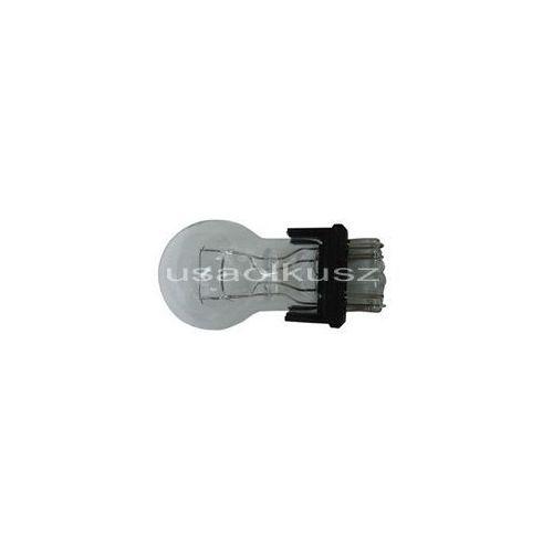 Biała dwuwłóknowa żarówka 3157 12V P27/7W - trzonek W2,5x16q