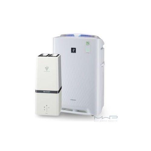 Sharp Inteligentny oczyszczacz powietrza z funkcją nawilżania + generator plasmacluster hd