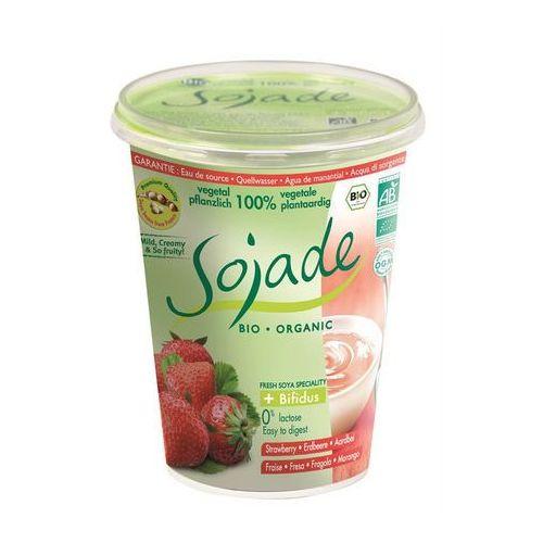 Produkt sojowy truskawkowy bio 400 g - sojade marki Sojade dystrybutor: bio planet s.a., wilkowa wieś 7, 05-084 leszno k.