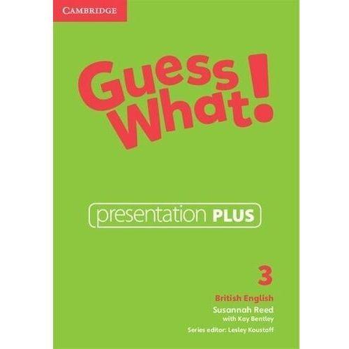 Guess What! 3 Presentation Plus DVD (Płyta DVD)