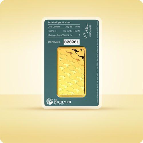 1 uncja Sztabka złota CertiCard - wysyłka 24 h! - 24h