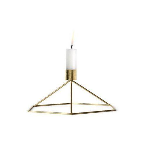 Świecznik POV stołowy, mosiądz - Menu (5709262962105)