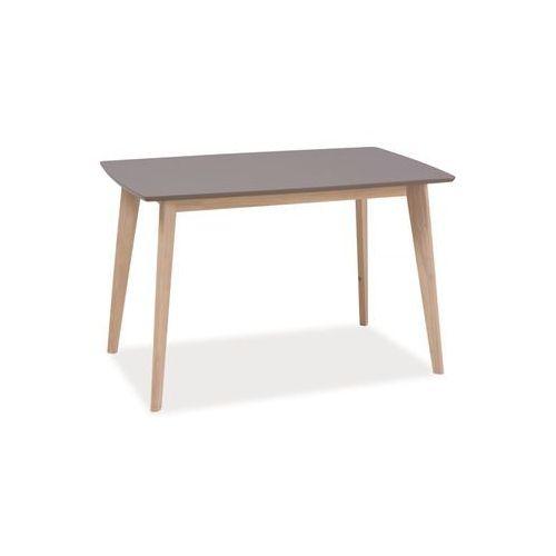 Stół COMBO dąb bielony-trufla