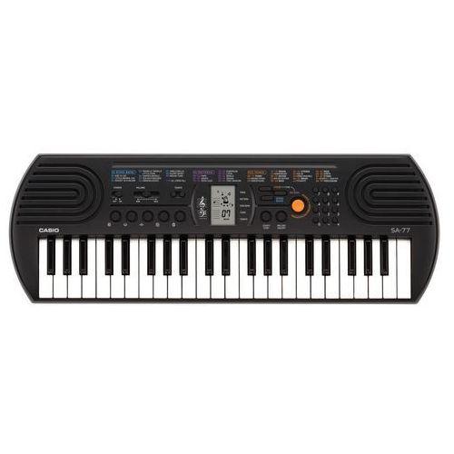 Casio Keyboard, sa-77, 44 mini klawisze, dźwięki: bęben, pianino, fisharmonia