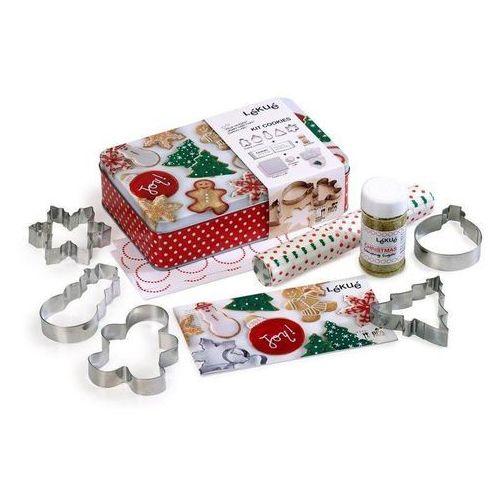 Zestaw świąteczny do pieczenia pierniczków i ciasteczek Lekue (8420460002284)