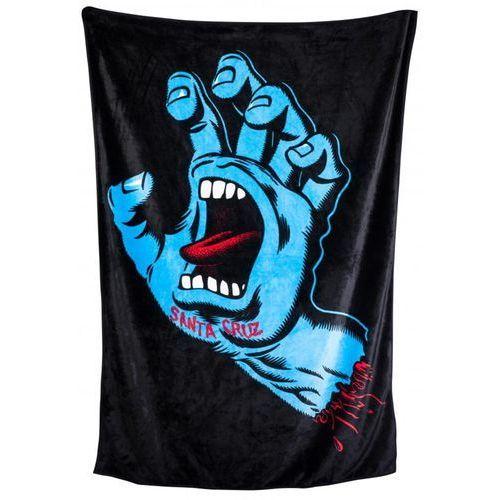 Ręcznik - screaming hand blanket black (black) rozmiar: os marki Santa cruz