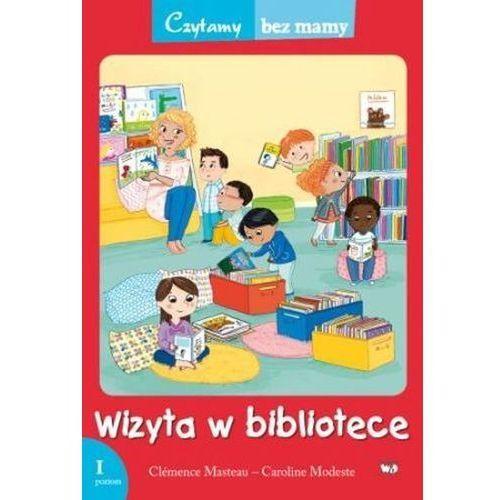 Wizyta w bibliotece 1 etap czytania - Clemence Masteau, Clemence Masteau