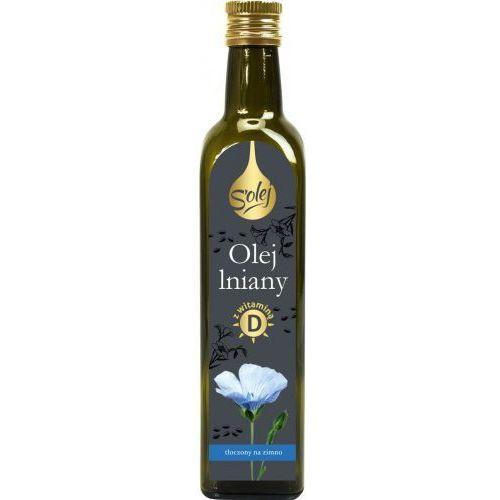Olej lniany z witaminą D 250ml
