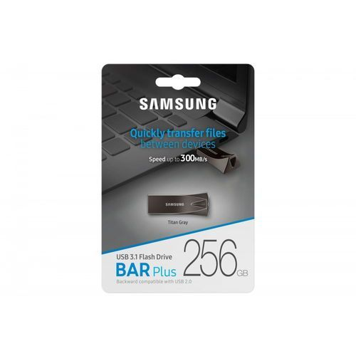 Samsung bar plus usb3.1 256 gb titan gray