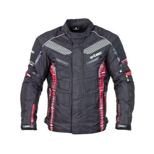 W-tec Męska kurtka motocyklowa kamicer nf-2100, czarno-czerwony, wxl