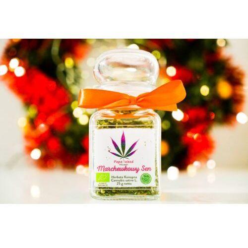 Papaweed Herbata konopna eko marchew susz cbd szkło 25g