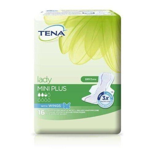 TENA Lady Mini Plus Wings wkładki higieniczne x 16 sztuk