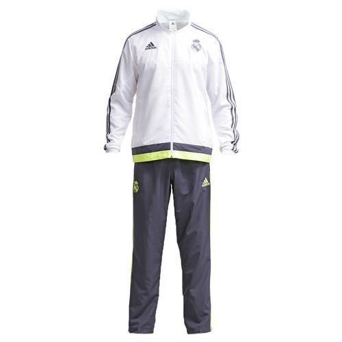 adidas Performance REAL MADRID Dres white/deepest space/solar yellow, IJE24