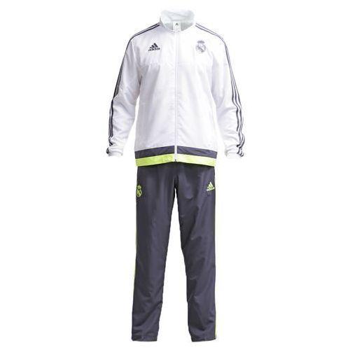 adidas Performance REAL MADRID Dres white/deepest space/solar yellow - produkt z kategorii- dresy męskie komplety