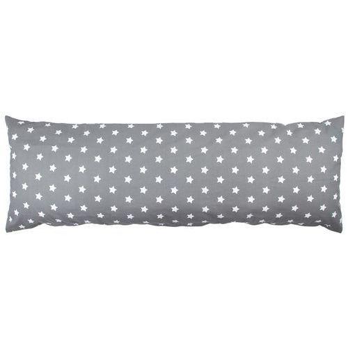 poszewka na poduszkę relaksacyjną mąż zastępczy stars szary, 50 x 150 cm marki 4home