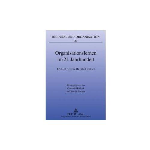 Organisationslernen im 21. Jahrhundert (9783631608159)