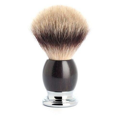 Pędzel do golenia sophist 33h85, syntetyk silvertip fibre, drewno grenadill marki Muhle