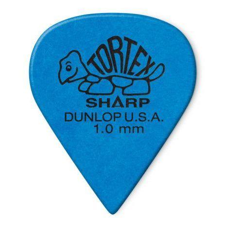 412p tortex sharp kostka gitarowa 1.00mm marki Dunlop