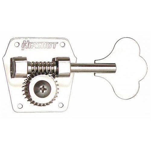 hb3 - bass tuning machine, for pre-cbs fender, reverse winding, bass side ″ niklowany klucz gitarowy marki Hipshot