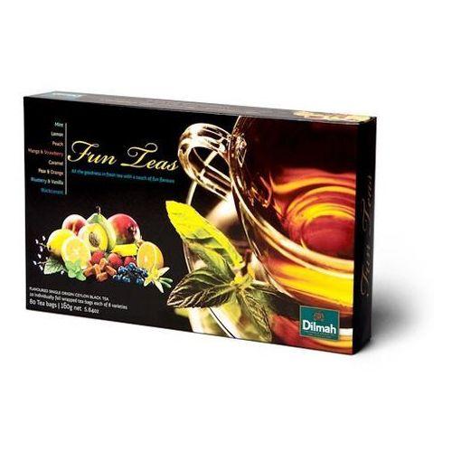 Dilmah . zestaw herbat 8 rodzajów x 10 kopert