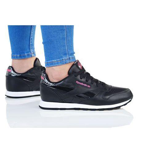 Reebok Classic GIRL SQUAD Tenisówki i Trampki black/acid pink/white, kolor czarny
