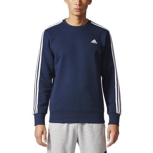 performance essentials crew bluza collegiate navy/white marki Adidas