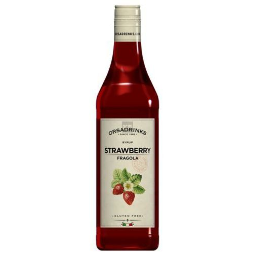 Syrop ODK Strawberry - Truskawkowy 750ml