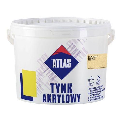 Tynk akrylowy sah 0027 topaz 25 kg marki Atlas
