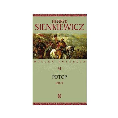 Potop. Tom 4. Seria Wielka kolekcja dzieł Henryka Sienkiewicza. Tom 6 (330 str.)