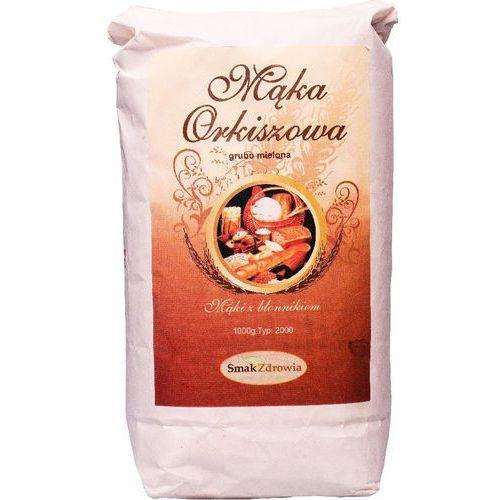 Mąka orkiszowa pełnoziarnista GRUBA 1kg NATURAL