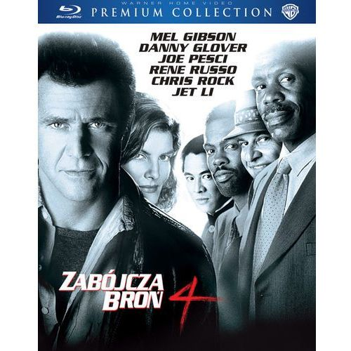 Zabójcza Broń 4 (BD) Premium Collection (Płyta BluRay) (7321996276341)
