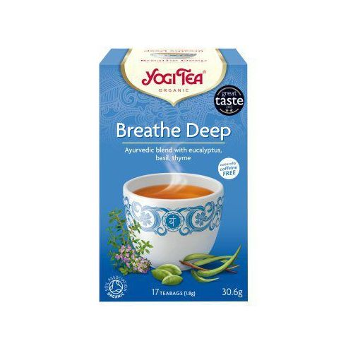 swobodny oddech (breathe deep) marki Yogi tea