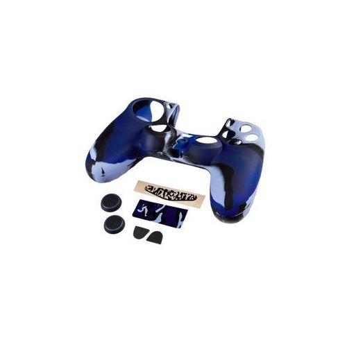 Hama Zestaw 7w1 blue camo do kontrolera dualshock 4