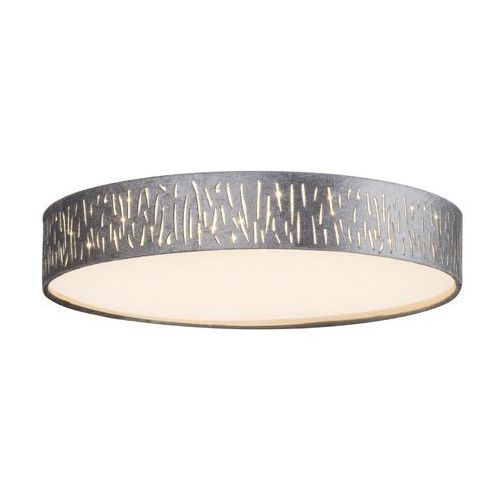 Globo Plafon tarok 15265d2 lampa sufitowa 1x24w led srebrny / nikiel mat