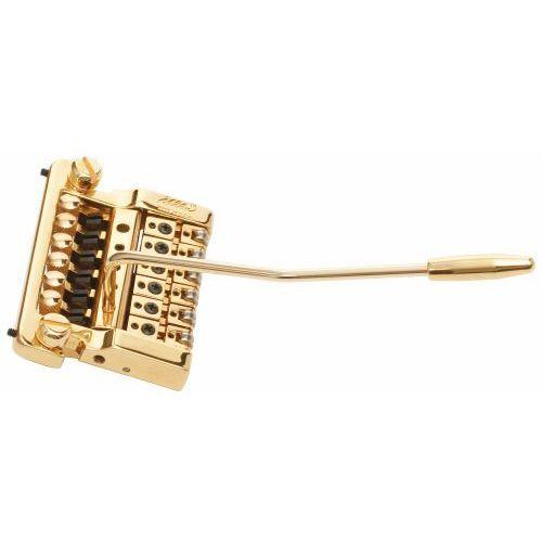 2215 - stud mount guitar tremolo, brass cam, steel saddles - złoty mostek do gitary marki Kahler