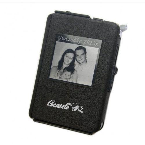 Papierośnica automat z zapalniczką +GRAWER Zdjęcia