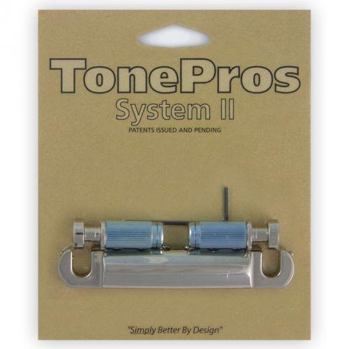 TonePros T1ZS-N - Tailpiece, części mostka do gitary, niklowane