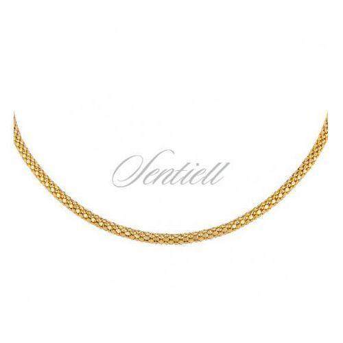 Sentiell Silver chain (925) coreana gold plated - coreana450dis