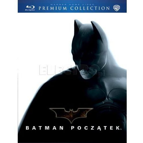 Batman początek (bd) premium collection (Płyta BluRay)