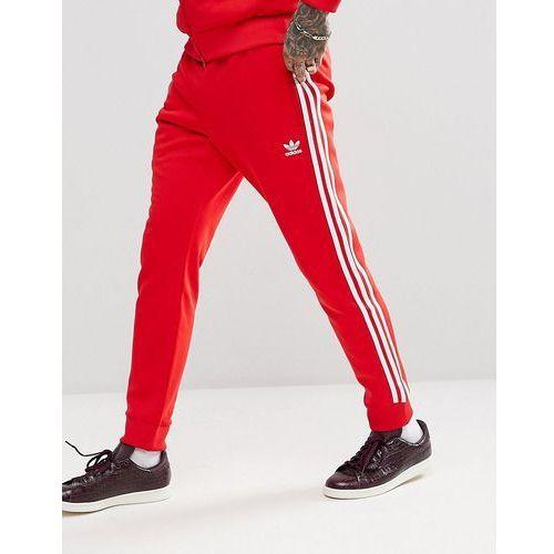 adicolor superstar joggers in red cw1276 - red, Adidas originals, L-XXL