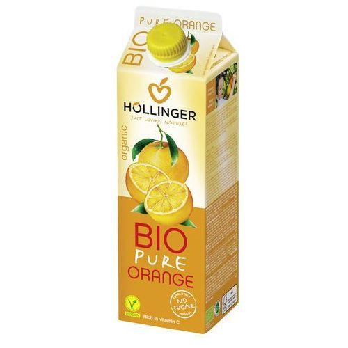 Hollinger Sok pomarańczowy 100% owoców bez cukru 1l -