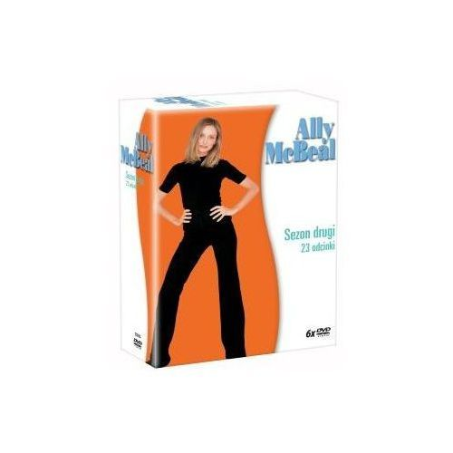 Ally McBeal - Sezon 2 (DVD) - Imperial CinePix DARMOWA DOSTAWA KIOSK RUCHU