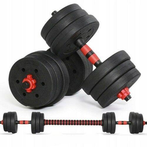 Sportprise Zestaw hantli regulowanych + sztanga zestaw 20kg