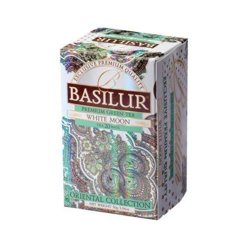 Basilur 70417 20x2g white moon herbata zielona kopertowana