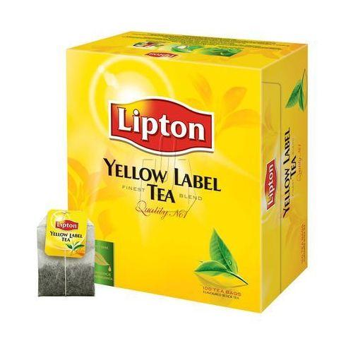 Herbata yellow label 100 tb. marki Lipton