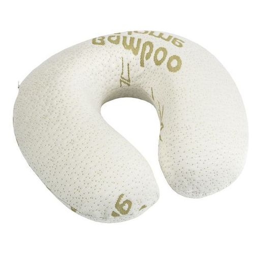 poduszka podróżna z pianki z pamięcią bamboo, 32 x 20 cm marki 4home