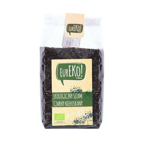 Sezam czarny niełuskany BIO 250 g Eureko