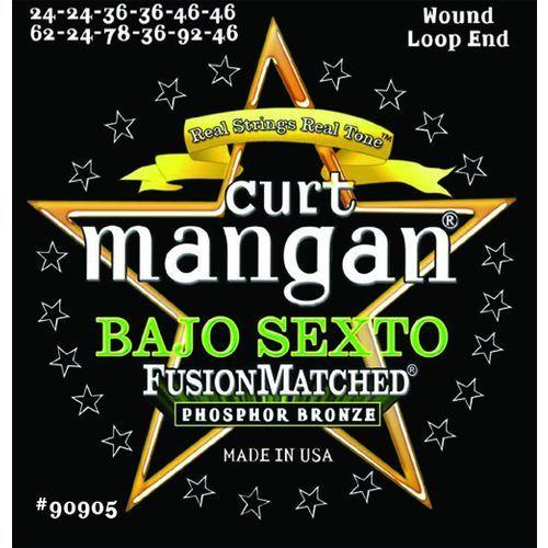 Curt mangan bajo sexto light phos bronze