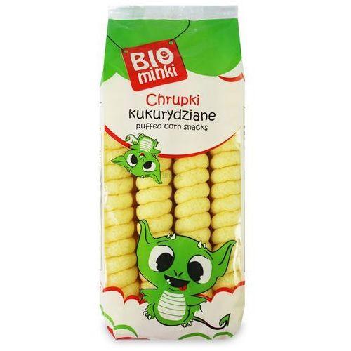 Biominki (przekąski dla dzieci) Chrupki kukurydziane spirale bezglutenowe bio 60 g - biominki
