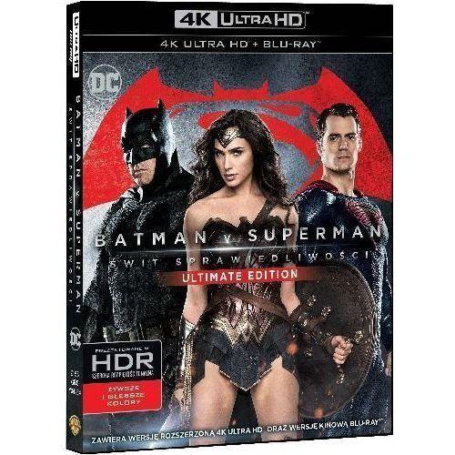 Batman v superman: świt sprawiedliwości (4k ultra hd) (blu-ray) - zack snyder darmowa dostawa kiosk ruchu marki Warner bros